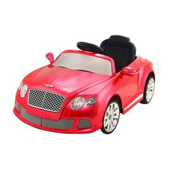Remote-Controlled Car for Kids- Bentley GTC, Dual Motors, 12V