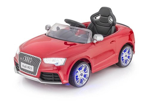 Remote-Controlled Car for Kids- Audi RS5, Dual Motor, 12V
