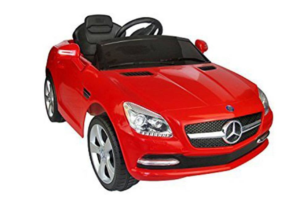 Remote Controlled Car For Kids Mercedes Benz Dual Motor 12v Hdf