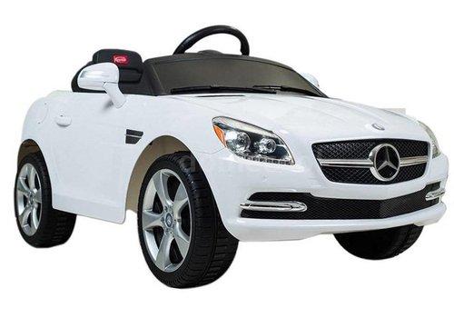 Remote-Controlled Car for Kids- Mercedes-Benz, Single Motor, 6V (HDF J-522A) (White)