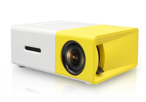LED Projector  (Yellow/White and Black/White - YG300)
