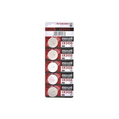 Maxell Lithium Battery CR-2450