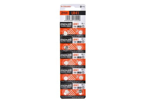 Maxell Maxell Lithium Battery LR-41