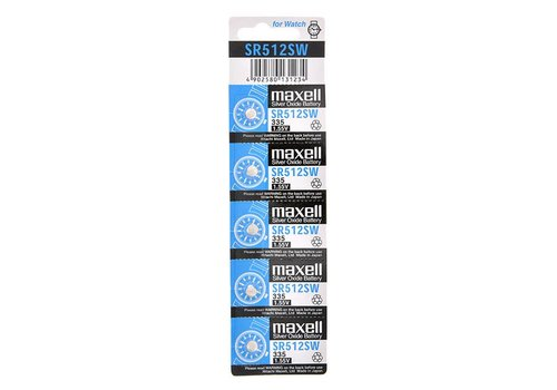 Maxell Maxell Lithium Battery SR-512SW (335)