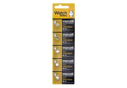 Maxell Maxell Lithium Battery SR-516SW (317)