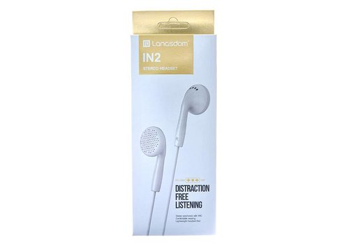 Langsdom Stereo Headset Wired - Langsdom (IN2)