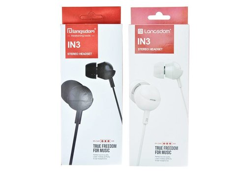 Langsdom Stereo Headset Wired - Langsdom (IN3)