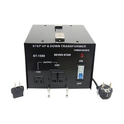 Seven Star Step Up & Down Transformer (ST-1500U/D)