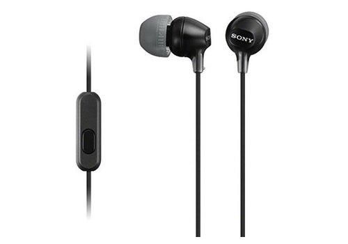 Sony Sony Comfortable Fit Earphones w/ Mic (MDR-EX15AP)