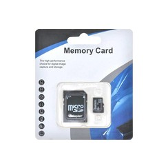 Closeout - Micro SD Card (8GB) Blue White Package