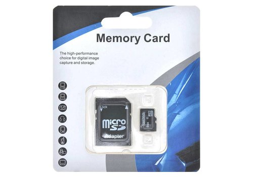 SanDisk Closeout - Micro SD Card (8GB) Blue White Package