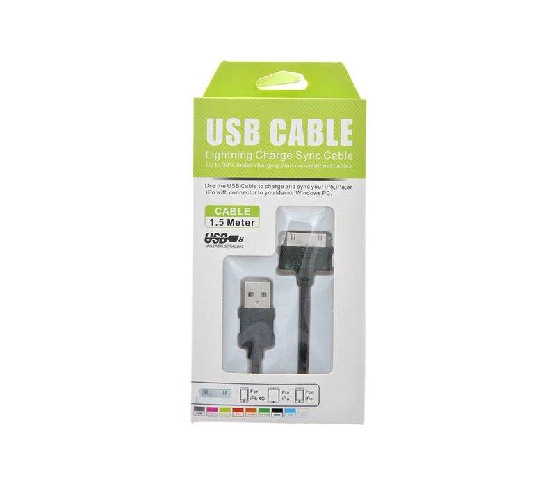 30 Pin/iPhone 4 Cable- 5ft (KS-U41)