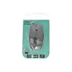2.4 GHz Wireless Optical Mouse (RF-6370 - Black Diamond Cut Design)