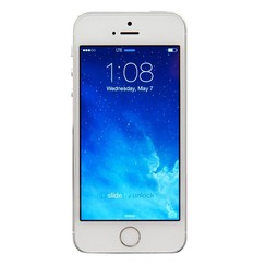 Apple iPhone 5S - 16GB, Silver (RB) - A Stock