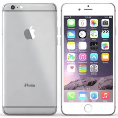 Apple iPhone 6 Plus - 64GB, Silver (RB) - A Stock