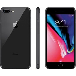 Apple iPhone 8 Plus - 64GB, Black (New)