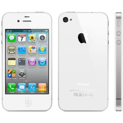 Apple iPhone 4 - CW Stock - 16GB, White (RB) (CW)