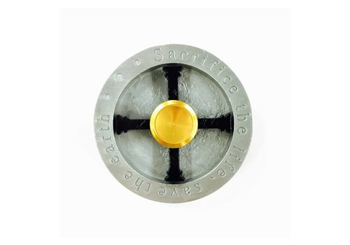 Fidget X-Shield (Round, Heavy) Spinner - Sacrifice the Life, Save the Earth
