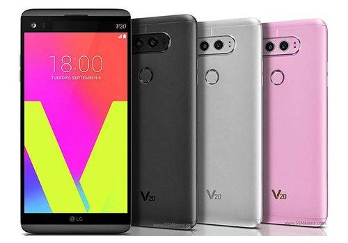 LG V20 Phone - 64GB, Silver