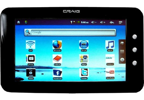 Craig Wireless Touch Screen Tablet (CMP738B)