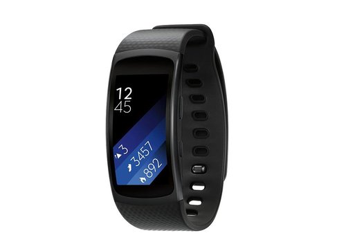 Samsung Samsung Gear Fit2 GPS Sports Band (Black)