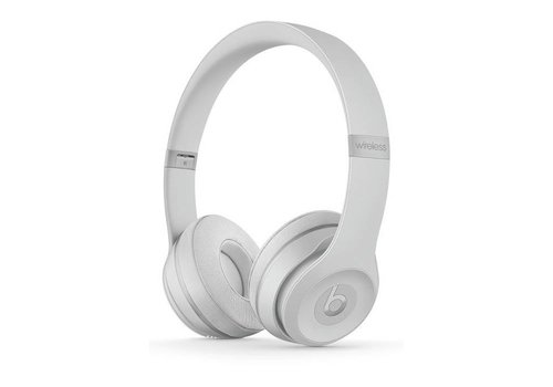 Beats by Dre Beats Solo 3 Wireless Headphones Matte Silver