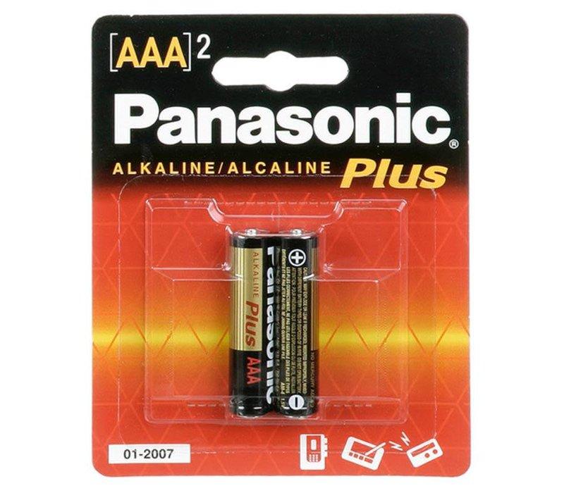 Panasonic Alkaline AAA X 2 Battery