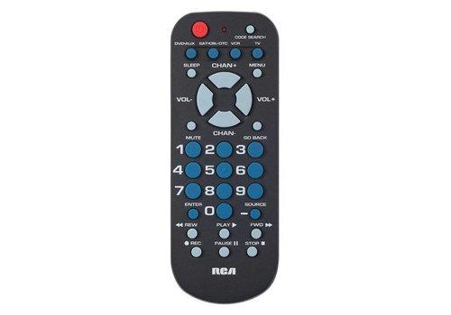 RCA RCA 4 Device Universal Palm Size Remote (RCR504BR)
