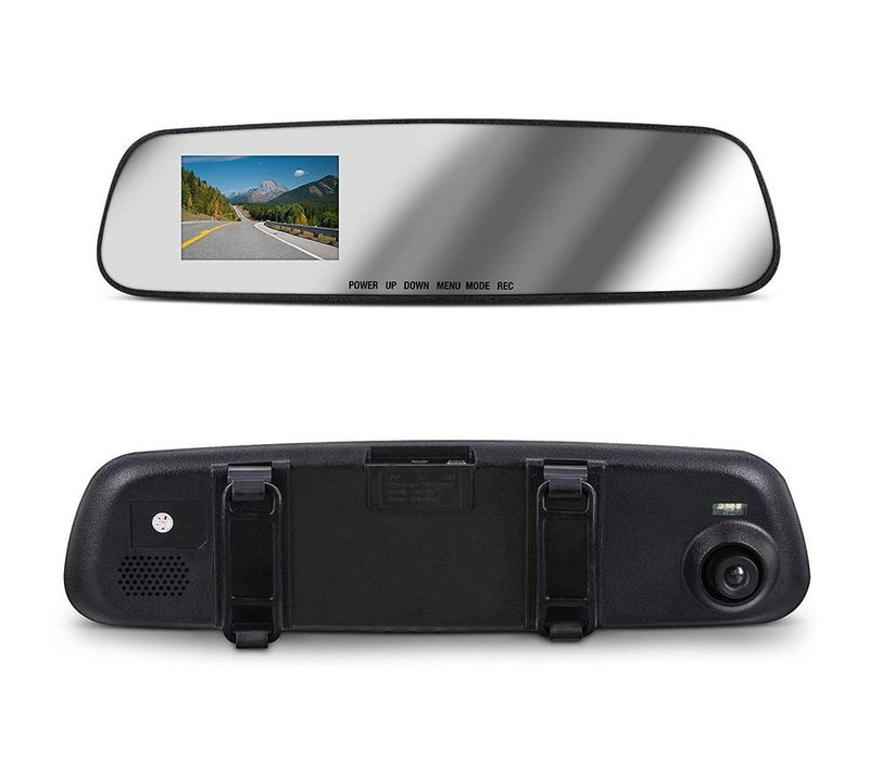Aduro MirrorCam Rear View Mirror Video Camcorder