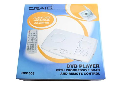 Craig Craig DVD Player CVD505