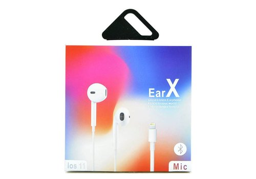 Earphones for Apple iPhone 7, 8 and X (IOS 11, Supports Bluetooth)