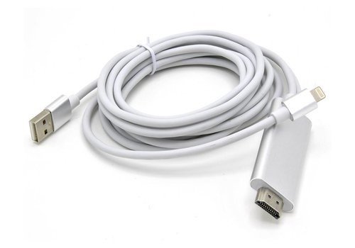 HDTV to Lightning Cable for Apple iPhone 5/6 (7522)