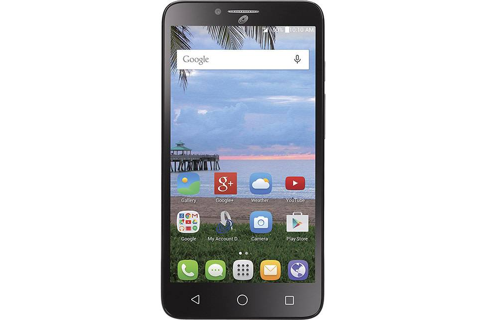 Simple Mobile $40 Plan Sim + Alcatel Pixi Glory Phone