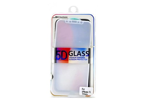 Tempered Glass for iPhone 8,  X, XS, 11-Pro  (Full Coverage)