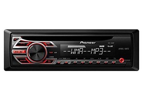 Pioneer Pioneer CD  Car Stereo Receiver Black Red