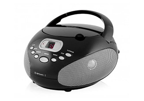 Riptunes Riptunes Portable CD Boombox (Black)