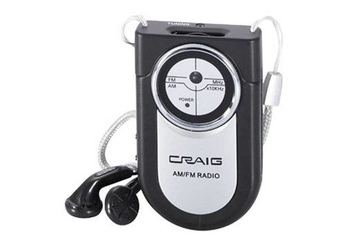 Craig Craig Mini AM/FM Portable Radio