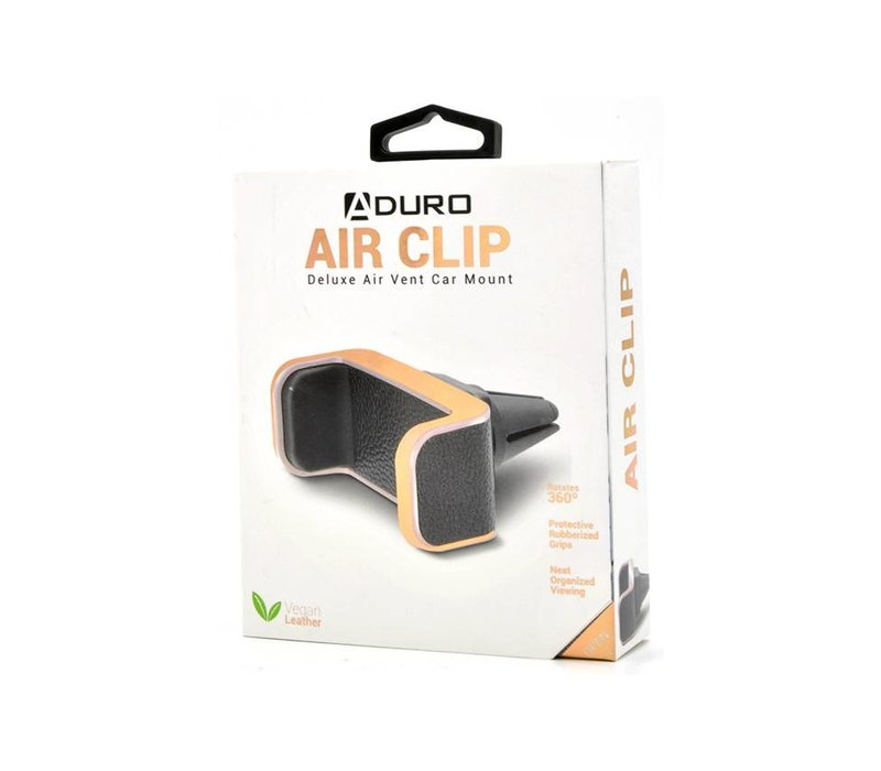 Air Clip Car Mount (Vegan Leather)