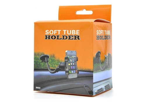 Soft Tube Holder Car Mount (S022) (Suction)