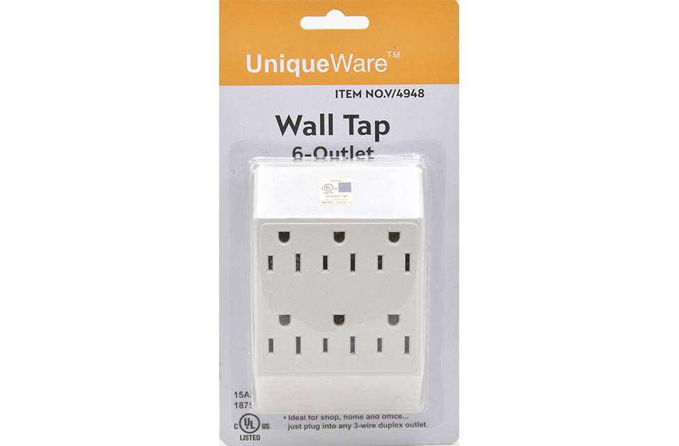 6 Outlet Wall Tap (V/4948)