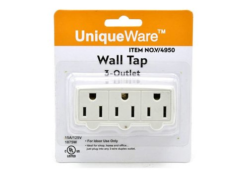 3 Outlet Wall Tap (V/4950)
