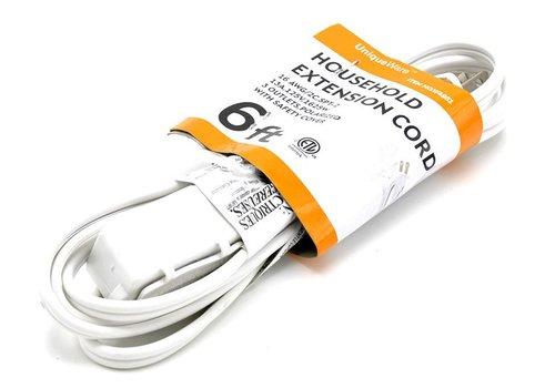 3 Outlet Extension Cord- 6ft (V/4951)