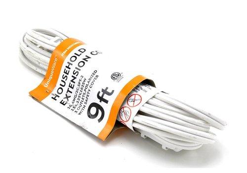 3 Outlet Extension Cord- 9ft (V/4952)