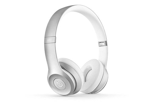 Beats Solo 2 Wireless Headphones (Silver)