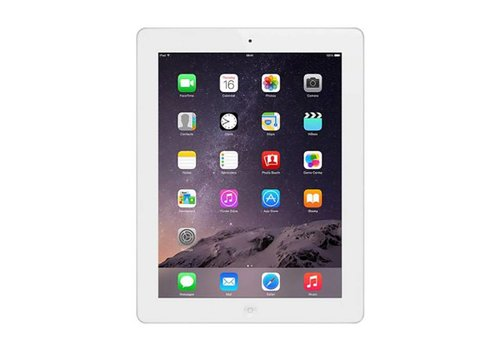 Apple Apple iPad 4 WiFi + Cellular- 16GB, White (RB) B Grade