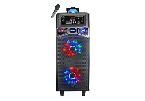 "Top Tech Audio Top Tech Bluetooth Speaker- Double 10"", 2000W (TTA-BALL210)"