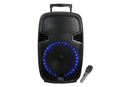 "Top Tech Audio Top Tech Bluetooth Speaker- 12"", 1800W (TTR-112BT)"