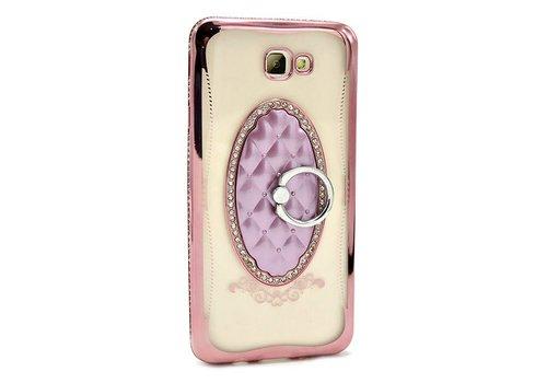 Case- Diamond TPU w/ Ring/Mirror
