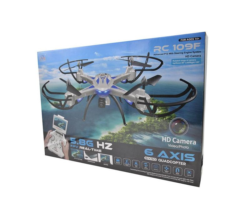 6 Axis Gyro Quadcopter Drone - No Wifi (RC-109F)