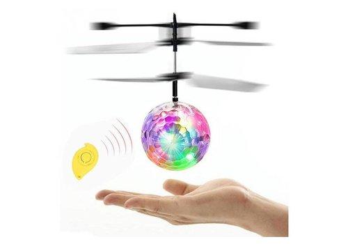 Flying Flashing Crystal Ball (QF8186) - (Clear/Red/NewToy2)